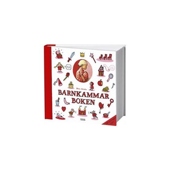 Den röda barnkammarboken med cd
