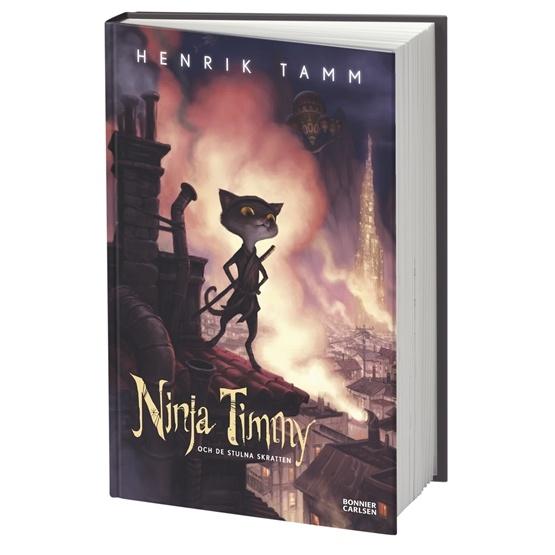 Henrik Tamm, Ninja Timmy och de stulna skratten