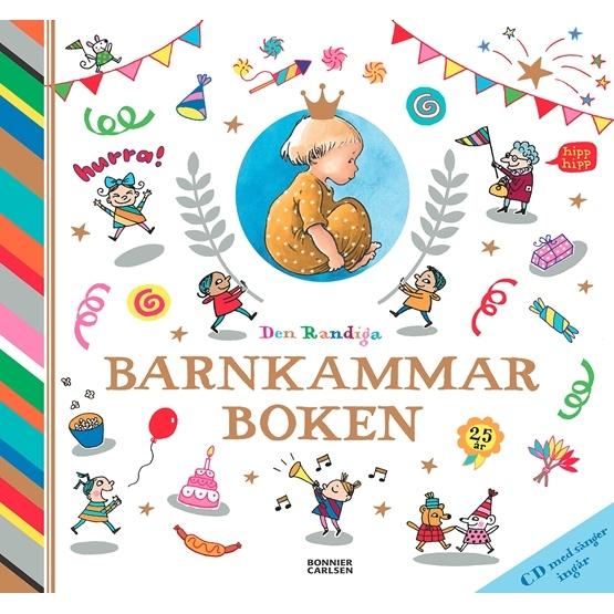 Den Randiga Barnkammarboken med CD