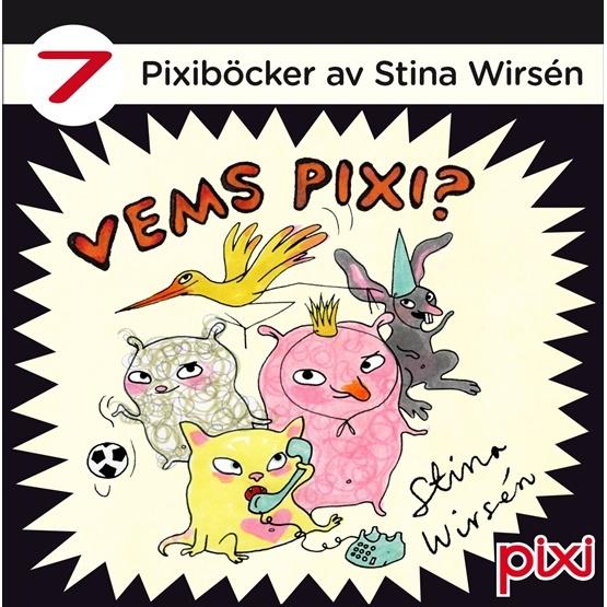 Stina Wirsén, Pixibox - Vems Pixi? 7 st