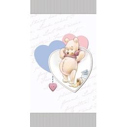 Disney, Nalle Puh Handduk 70x140 cm