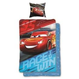 Disney Cars, Bäddset Race to Win 150x200 cm