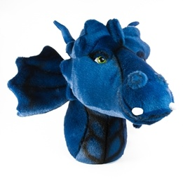 Brigbys - Djurhuvud - Blue Dragon Head