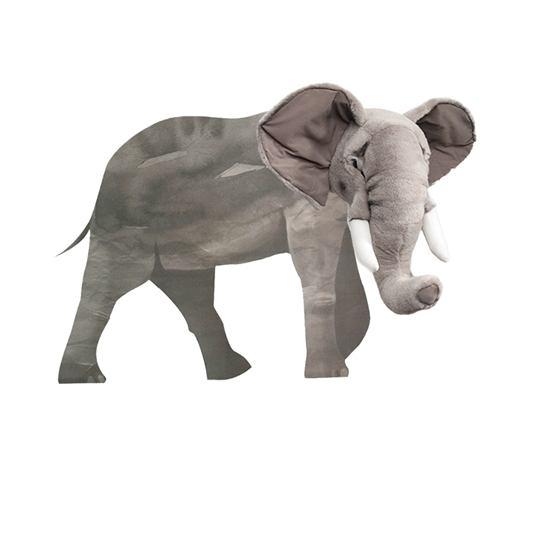 Brigbys - Väggdekal Elefant