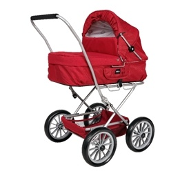 BRIO - Dockvagn Gull Red
