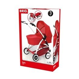 BRIO - Dockvagn Spin röd