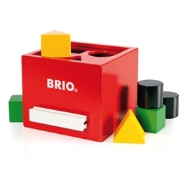BRIO - 30148 Sorteringslåda - röd