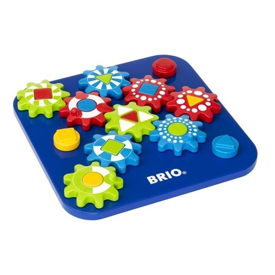 BRIO, 30188 Dubbelsidigt kugghjulspussel