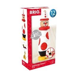 BRIO - 30230 Stapelclown - 60-årsjubileum