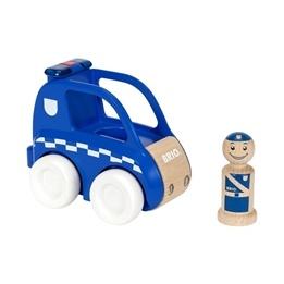 BRIO - My Home Town 30377 Polisbil med ljus- och ljud