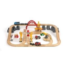 BRIO - Lift & Load 33097 Frakt- och järnvägsset deluxe