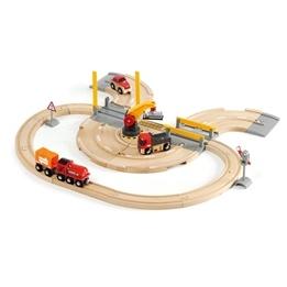 BRIO - Lift & Load 33208 Bil- och tågset med kran