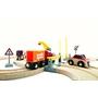 BRIO, Lift & Load 33208 Bil- och tågset med kran