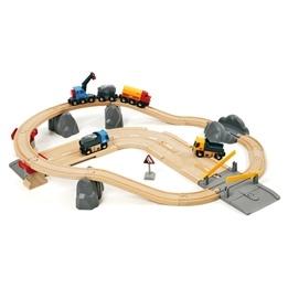 BRIO - Lift & Load 33210 Järnväg- och väglastset