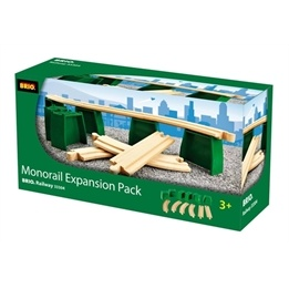 BRIO, Travel 33304 Monorail track pack