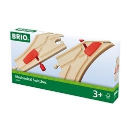 BRIO - Rail & Road 33344 Mekaniska växlar