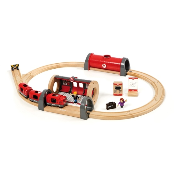 BRIO - Travel 33513 Tunnelbaneset