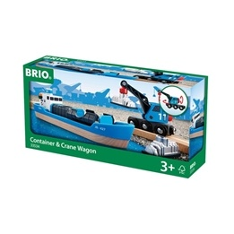 BRIO - Lift & Load 33534 Containerfartyg