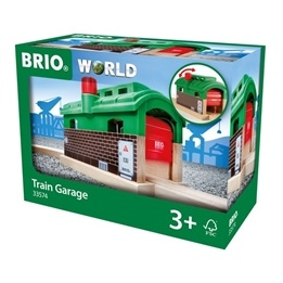 BRIO - Rail & Road 33574 Lokgarage