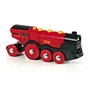 BRIO, Rail & Road 33592 Batteridrivet lok - The Mighty Red