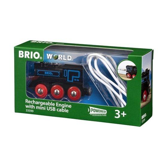 BRIO, Rail & Road 33599 Uppladdnignsbart lok