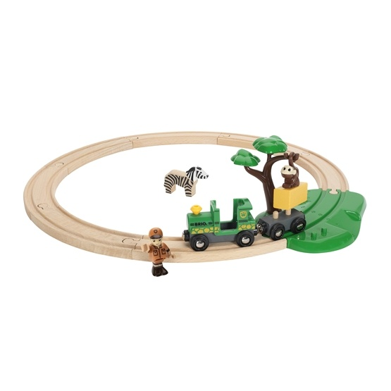 BRIO, Rail & Road 33720 Safari-tågset
