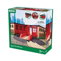 BRIO - Rail & Road 33736 Det stora tågstallet
