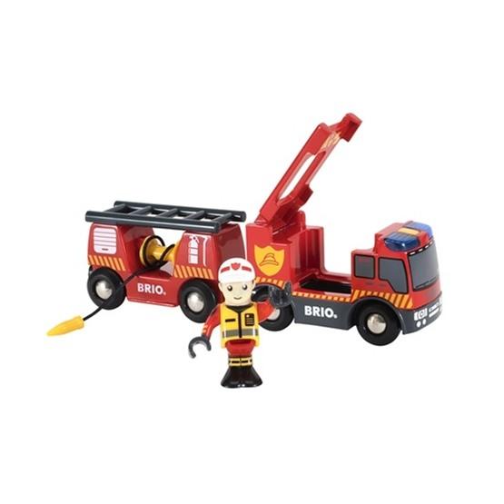 BRIO, Rescue 33811 Brandbil
