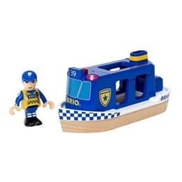 BRIO - Rescue 33820 Polisbåt