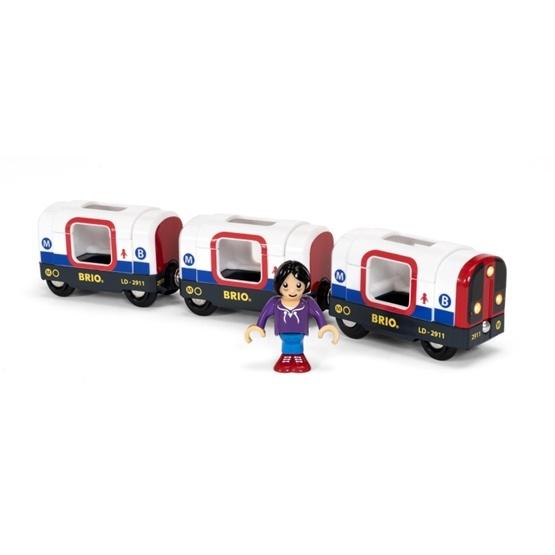 BRIO, Travel 33867 Tunnelbana