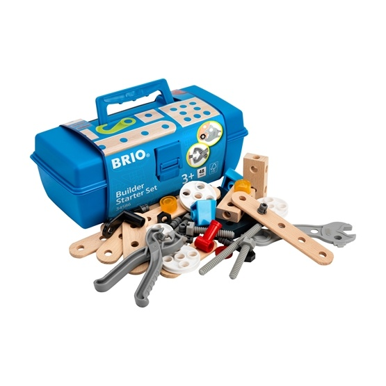 BRIO - Builder 34586 Byggsats för nybörjare