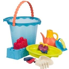 B.Toys, Shore Thing Stort Sandset Blå