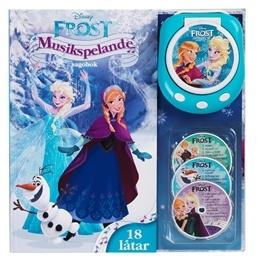 Disney Frozen,Frost musikspelande sagobok
