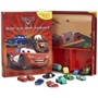 Disney Cars, Blaziing Trails Sagobok med figurer & lekmatta