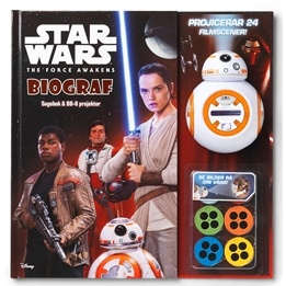 Star Wars, Sagobok & BB-8 projektor