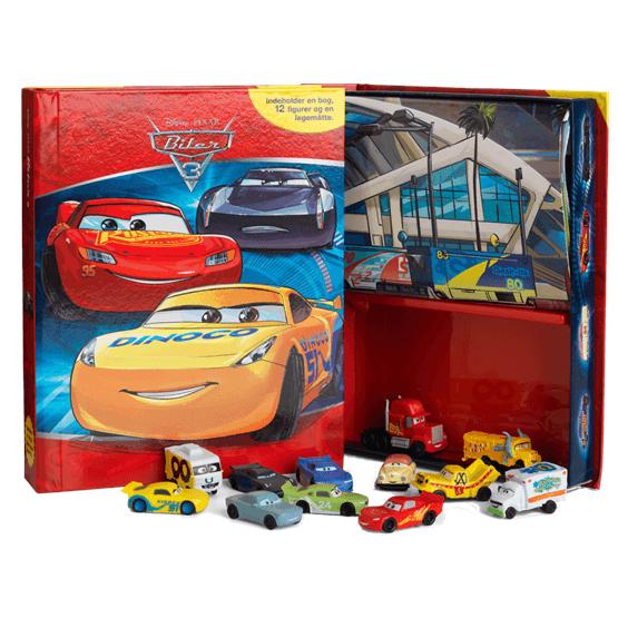Disney Cars 3, Sagobok med figurer & lekmatta