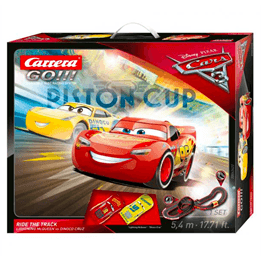 Carrera GO, Disney Cars 3 - Ride the track loop