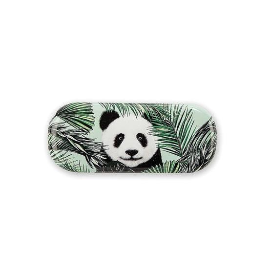 Catseye - Panda In Palms Glasses Case