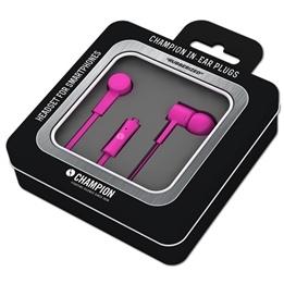 Champion Headset In-Ear Plugs Rosa