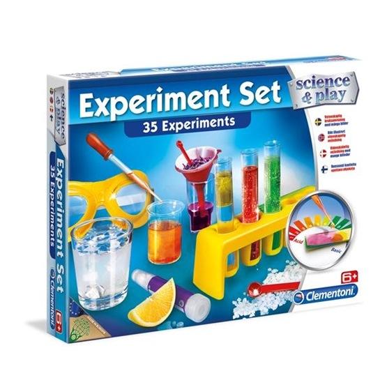 Clementoni, Experiment Set - 35 chemical experiments