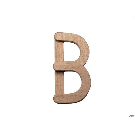 Clicko - B- bygg din bokstav med magnetisk byggsats