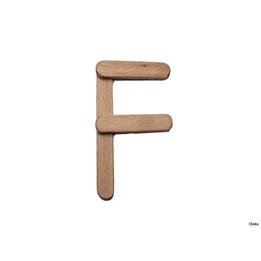 Clicko - F- bygg din bokstav med magnetisk byggsats