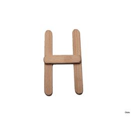 Clicko - H- bygg din bokstav med magnetisk byggsats