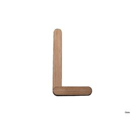 Clicko - L- bygg din bokstav med magnetisk byggsats