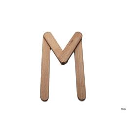 Clicko - M- bygg din bokstav med magnetisk byggsats