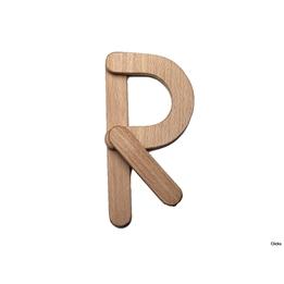 Clicko - R- bygg din bokstav med magnetisk byggsats