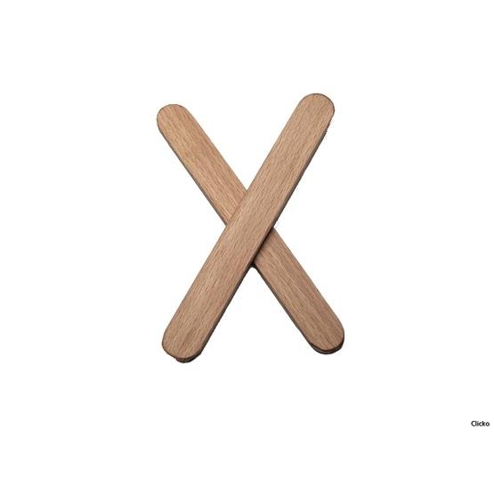 Clicko - X- bygg din bokstav med magnetisk byggsats