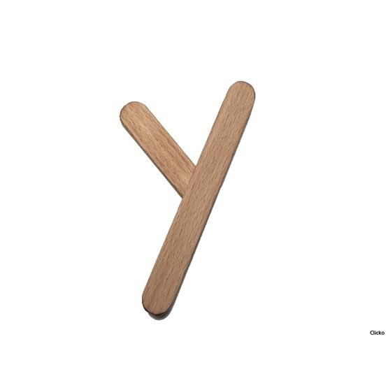 Clicko - Y- bygg din bokstav med magnetisk byggsats
