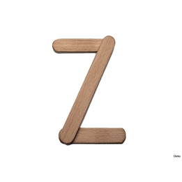 Clicko - Z- bygg din bokstav med magnetisk byggsats