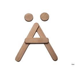 Clicko - Ä- bygg din bokstav med magnetisk byggsats